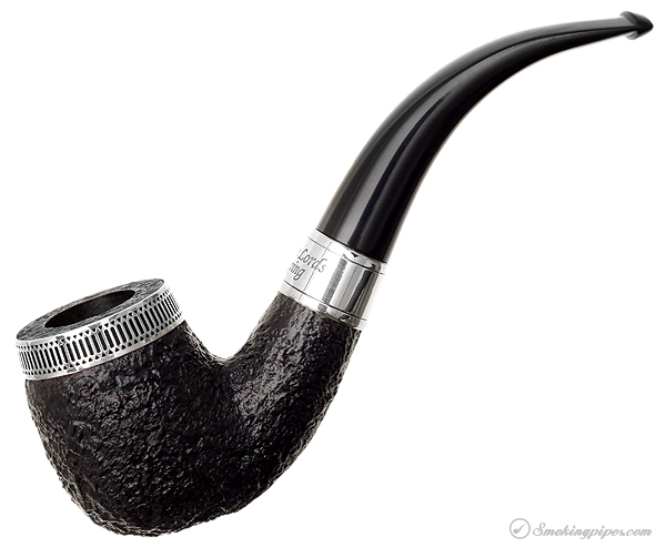 English Estate Dunhill Shell Briar Christmas Pipe (Twelve Lords a leaping) (5102) (4/500) (2004) (Unsmoked)