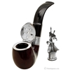 English Estates Dunhill Bruyere Christmas Pipe (Three French Hens) (4202) (4/500) (1995) (Unsmoked)