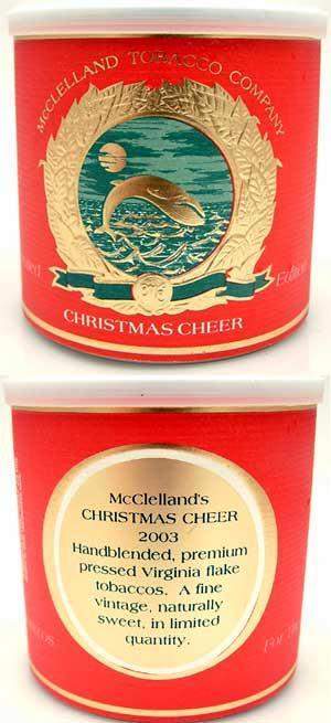 Mcclelland Christmas Cheer 2019 smokingpipes.| Pipe Tobacco