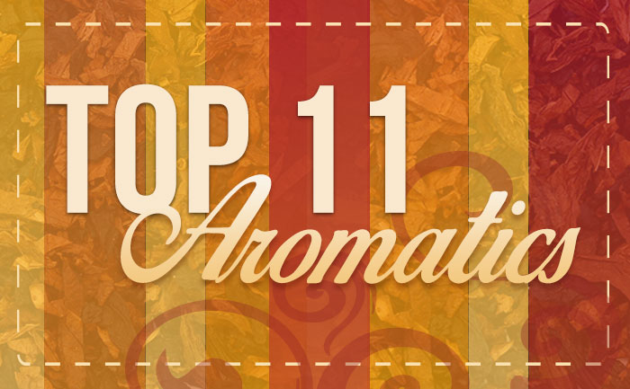 Top 11 Best-Selling Aromatic Tobaccos