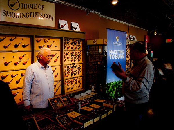 Smokingpipes.com image Torano cigar event