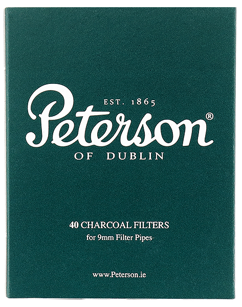 Pipe Supplies Peterson 9mm Pipe Filters (40 Pack)