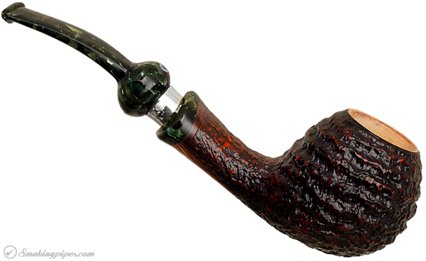 Ardor Urano Rusticated Bent Apple with Silver