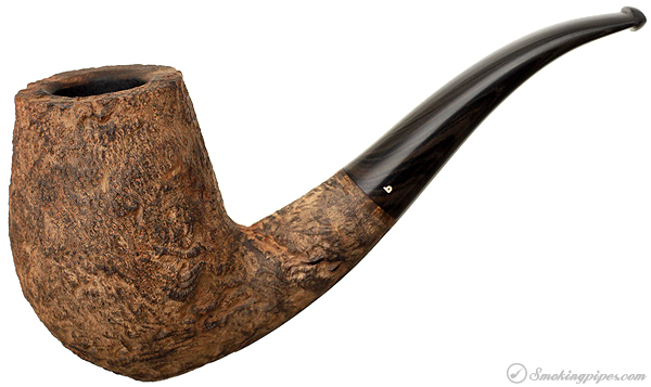 Becker Sandblasted Strawberry Wood Bent Stack (Three Clubs)