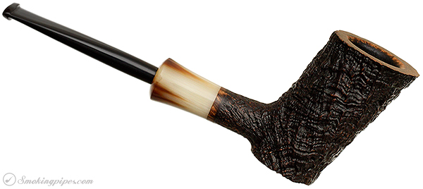 Becker Sandblasted Poker with Horn (Two Clubs)