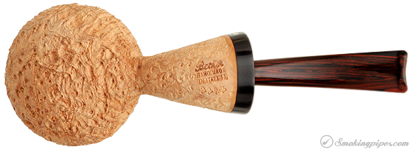 Becker Sandblasted Strawberry Wood Tomato (Four Clubs)