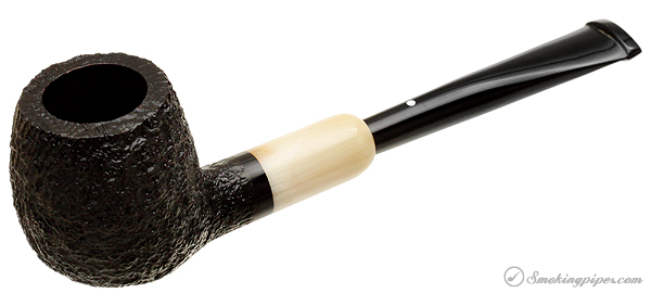 Dunhill Shell Briar (4101) with Horn Army Mount (2013)