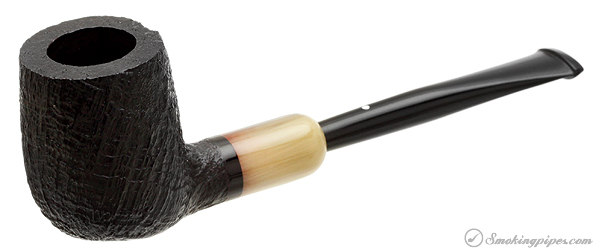 Dunhill Shell Briar with Horn Army Mount (4103) (2014)