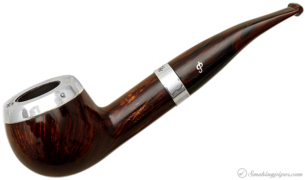 Peterson Dublin Silver Cap (408) Fishtail
