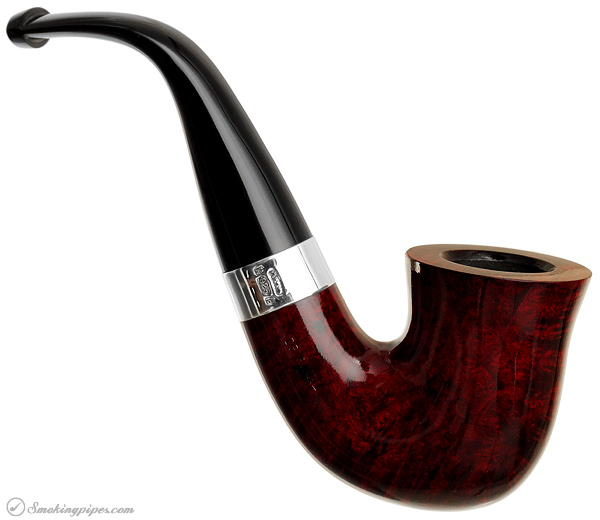 New Tobacco Pipes Peterson Sherlock Holmes Smooth Red