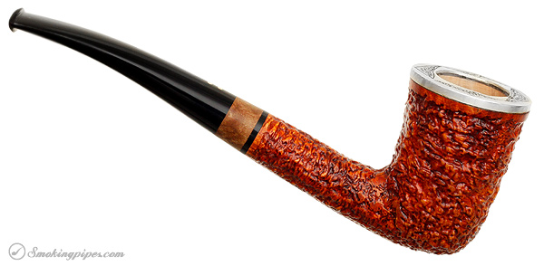 Radice Classic Rind Bent Dublin with Silver (O)
