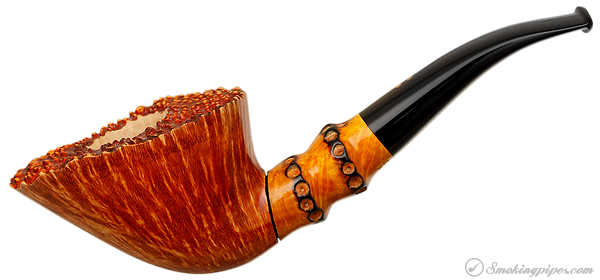 """Radice Clear """"Gold"""" Bent Dublin with Faux Bamboo"""