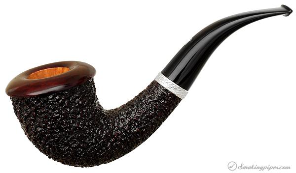 Rinaldo Lithos Rusticated Calabash (SL-8) (2) (YY) (Titania)