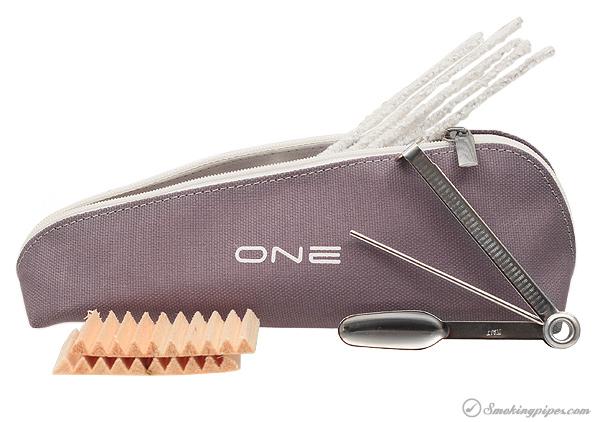 Savinelli One Starter Kit Rusticated (404) (6mm)
