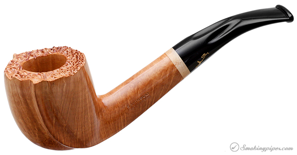 Savinelli Autograph Smooth Bent Billiard (8) (6mm)