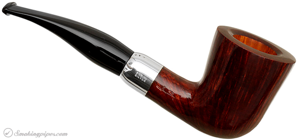 Savinelli Autograph Smooth Bent Dublin with Silver (3) (6mm)