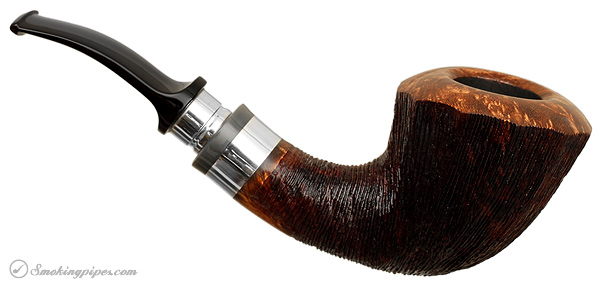 Winslow 2012 Rusticated Pipe of The Year with Silver (073)