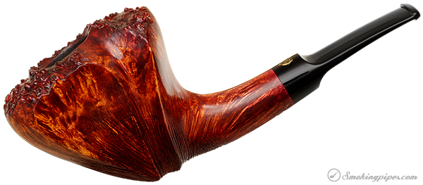 Winslow Crown Partially Rusticated Bent Dublin with Plateau (Viking)