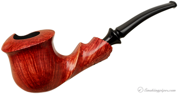 Randy Wiley Feather Carved Smooth Freehand with Plateau (66)