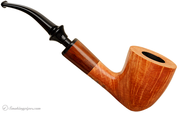 Randy Wiley Patina Bent Dublin with Snakewood (77)