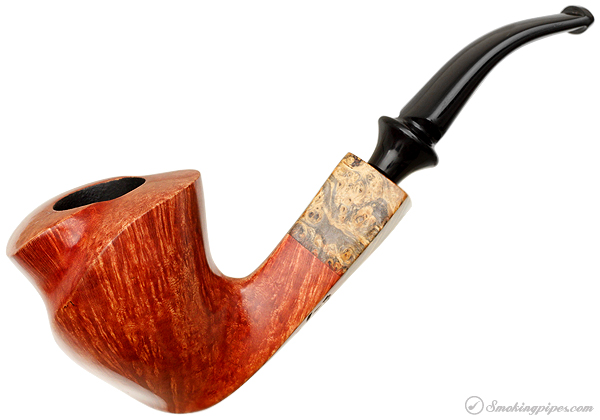 Randy Wiley Feathercarved Bent Freehand (88)