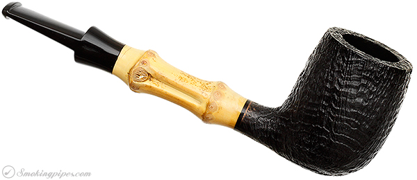 Tsuge Sandblasted Billiard with Bamboo