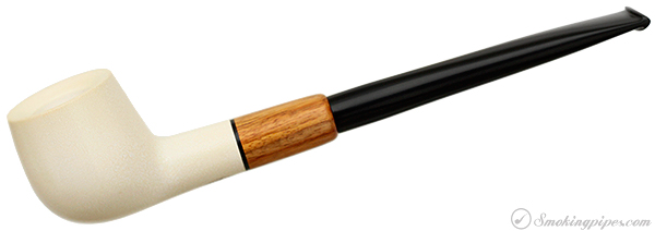 Walt Cannoy Meerschaum Apple with Canary Wood (4)