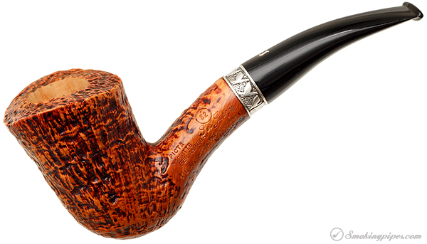 Ser Jacopo Picta Magritte Sandblasted Bent Dublin with Silver (S2) (16)