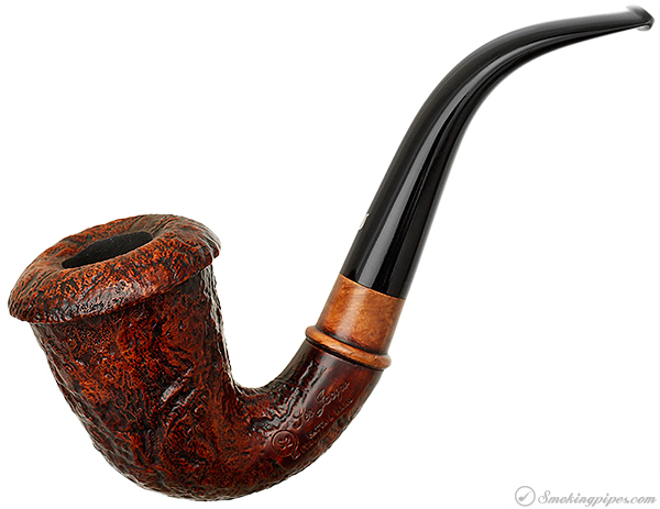 Ser Jacopo Sandblasted Calabash with Briar Mount (S2) (Maxima)