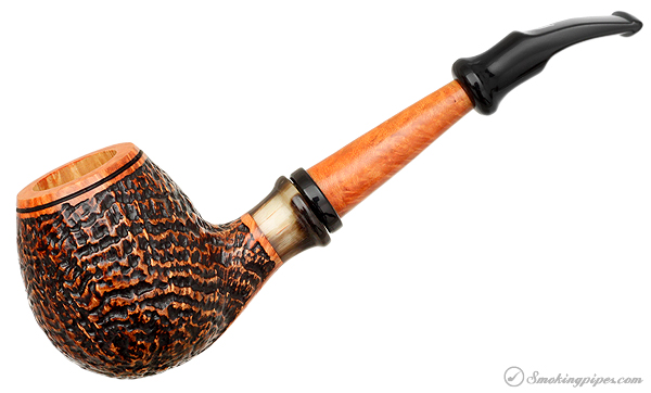 Ser Jacopo Picta Van Gogh Sandblasted Hawkbill with Horn (S2) (19)