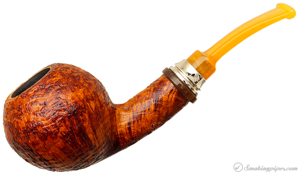Classic Sandblasted Bent Apple (2)