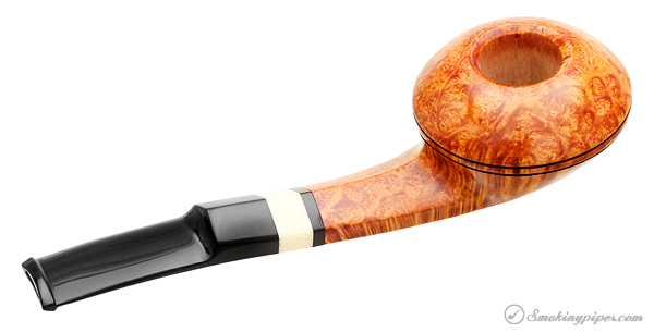 Peter Heeschen Smooth Bent Bulldog with Celluloid (S)
