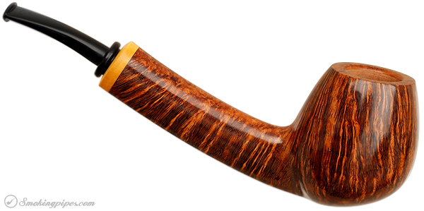 Peter Matzhold Smooth Bent Brandy with Boxwood