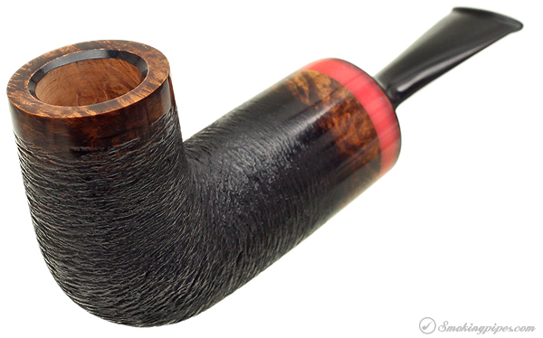 "Rolando Negoita Satin Black Rusticated Lovat ""Conducta"" with Tamper"