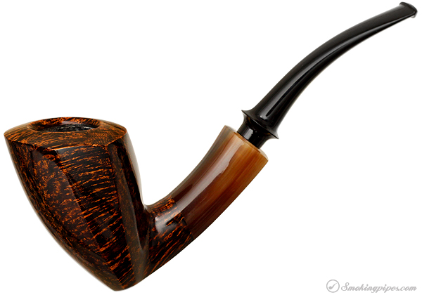 Tom Eltang Smooth Elephants Foot with Horn (Snail)