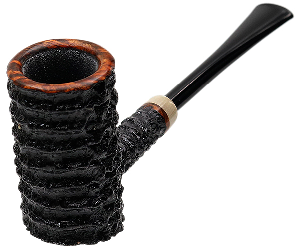 Tom Eltang Rusticated Poker with Horn