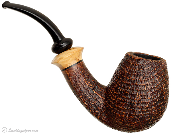 Lasse Skovgaard Sandblasted Bent Brandy with Olivewood