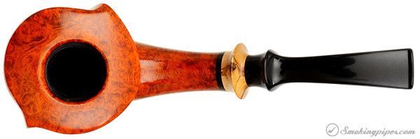 Lasse Skovgaard Smooth Bent Dublin with Olivewood (Lion)