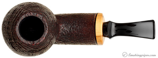 Benni Jorgensen Sandblasted Bent Brandy with Olivewood