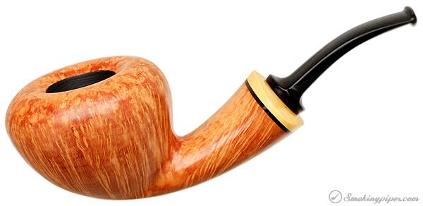 Benni Jorgensen Smooth Bent Acorn with Boxwood (Swan)