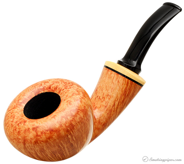 Benni Jorgensen Smooth Bent Acorn with Boxwood (Swan)