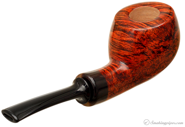 Gregor Lobnik Smooth Bent Pot with Horn