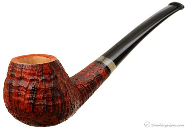 Gregor Lobnik Sandblasted Bent Brandy with Horn