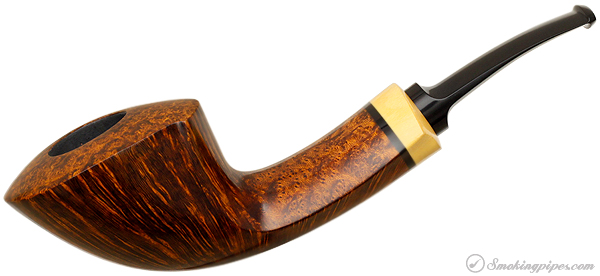 Peter Heding Smooth Horn with Boxwood (Diamond)