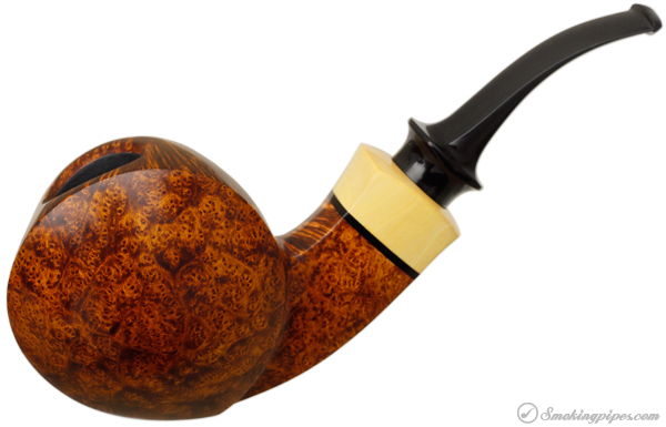 Peter Heding Smooth Magnum Blowfish with Boxwood (Diamond)