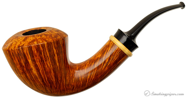 J. Alan Pipes Smooth Bent Dublin with Boxwood
