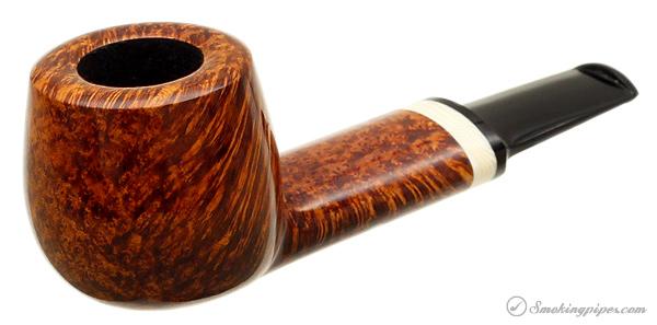 J. Alan Pipes Smooth Pot with Mastodon Ivory