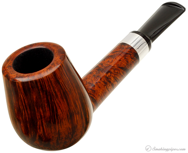 J. Alan Pipes Smooth Lovat with Silver