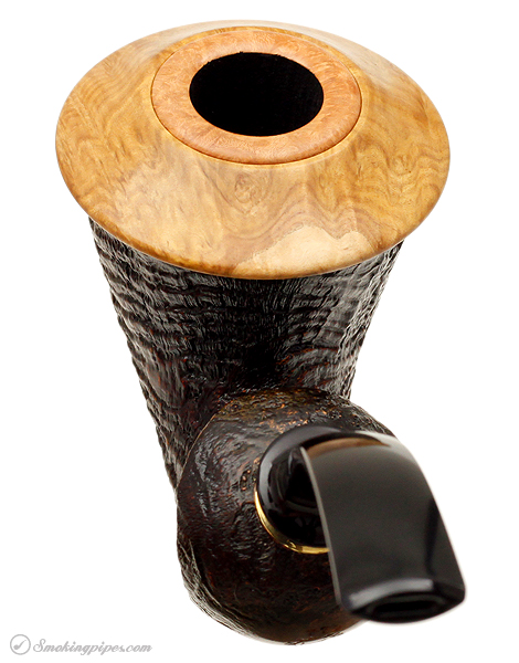 J. Alan Pipes Sandblasted Calabash