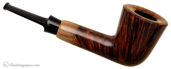 J. Alan Pipes Smooth Pint Glass with Horn